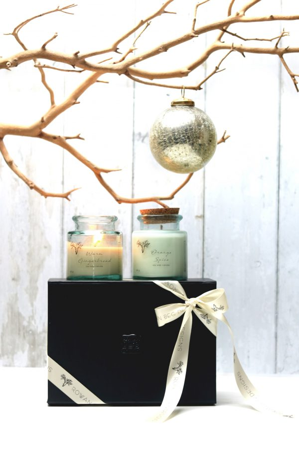 Connemara Christmas Candle Gift Box