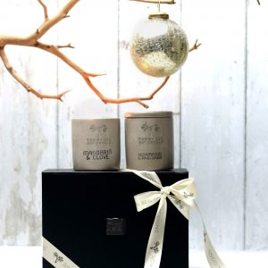 Urban Large Candle Christmas Gift Box
