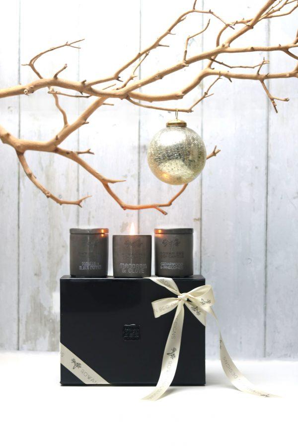 Urban Small Christmas Candle Gift Box