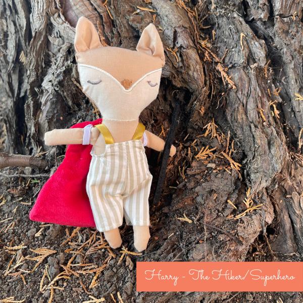 Mini Fox Superhero