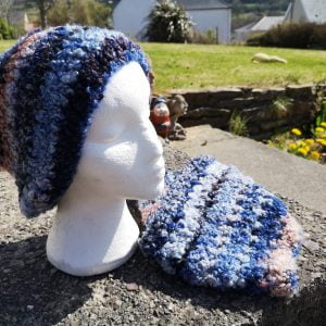 Fluffy Skies Hat and Cowl Set