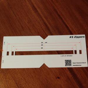 New Gift Ideas - NeedleSketches Zipper Placement Stencils 2