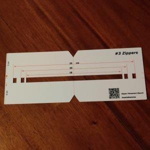 New Gift Ideas - NeedleSketches Zipper Placement Stencils 4