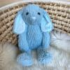 Personalised Blue Bunny Teddy