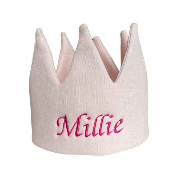 Kids Personalised Crown - Pink - Untitleddesign 31 3370f55f 8a92 4e41 a5be