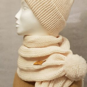 Winter Hat and Scarf Set