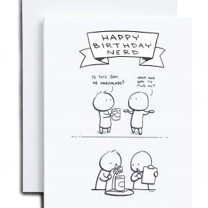 Birthday Card – Birthday Nerd