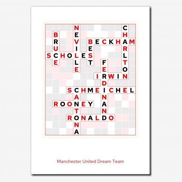 elevencorners football dream team crossword print