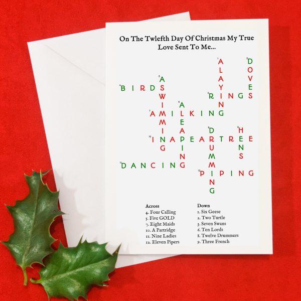elevencorners Twelve Days of Christmas Card